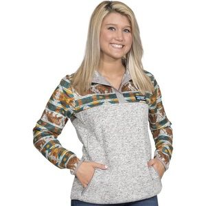 🐻 Simply Southern Bear Aztec Pullover Sweater